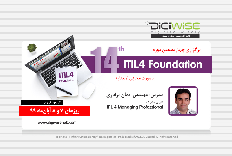 digiwise academy itil4 14th