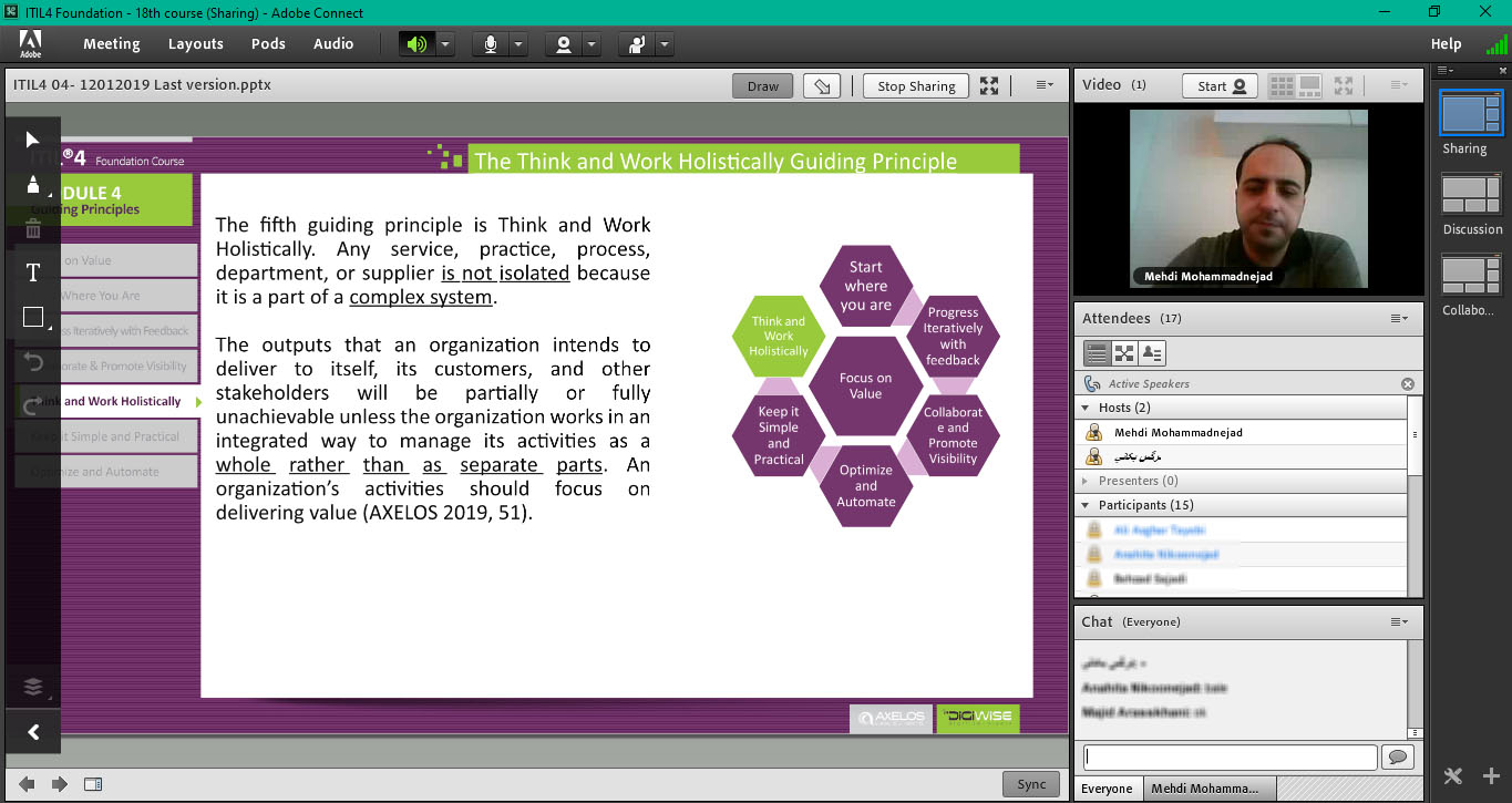 digiwiseacademy itil4 18th