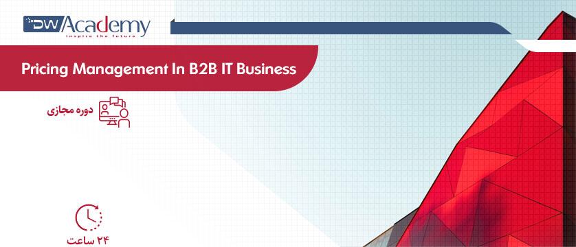 Pricing Management In B2B IT Business (وبینار)