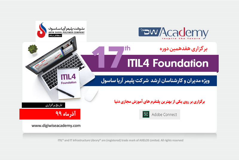 digiwiseacademy itil4 17th aryasasol