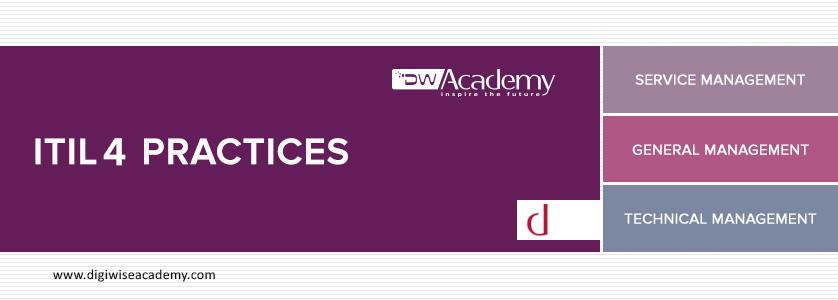 ITIL 4 MANAGEMENT PRACTICES