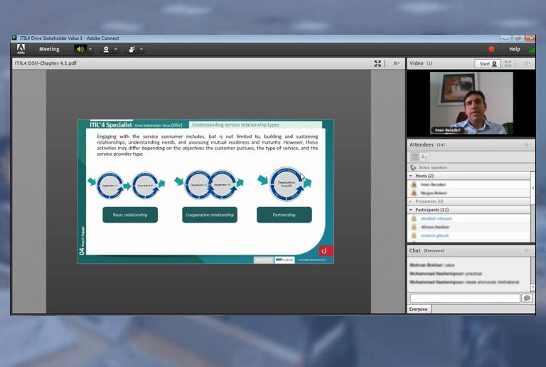 دوره آنلاین ITIL4 Specialist Drive Stakeholder Value (DSV)
